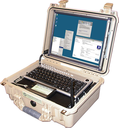 Rugged Tactical Computer Workstation with numerous features and options