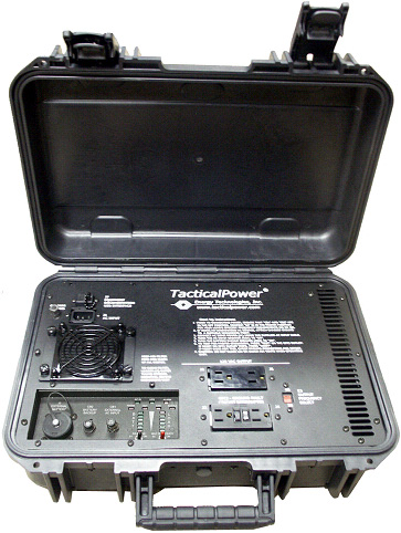 Rugged Briefcase UPS or Power Conditioner