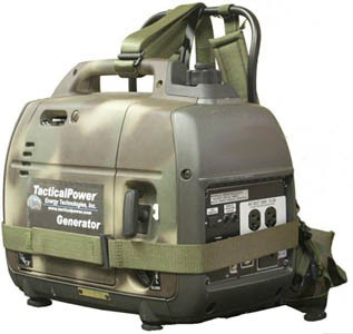 Rugged Tactical Backpack Generator