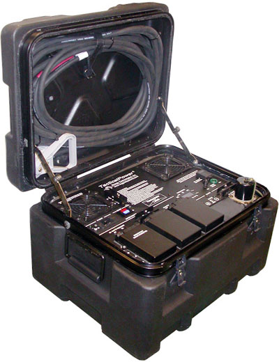 Rugged Tactical Transit Case Sinewave Inverters