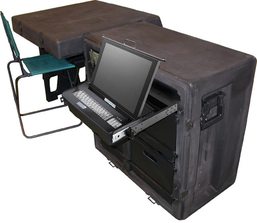 Tactical Field Office with Computer built in