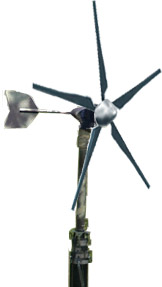 Light-weight, portable wind turbine generators and telescopic masts